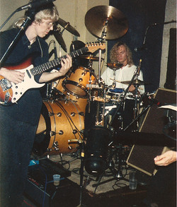 Kye and Ebe at South End, '89