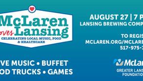 McLaren Loves Lansing Event Celebrates the City - 517mag.com