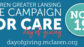 McLaren Greater Lansing Foundation raises over $90,000 during The Campaign for Care Day of Giving
