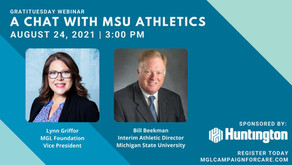 August Gratituesday Webinar: A Chat with MSU Athletics