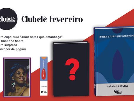 Cristiane Sobral no Clube Lê de fevereiro.