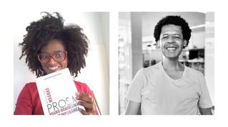 Mirian Cristina dos Santos e Marcos Antônio Alexandre na Primavera Literária de BH