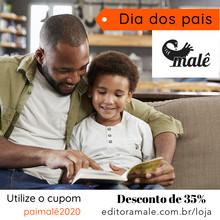 Dê livros de presente no Dia dos pais.