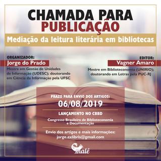 Chamada para publicação - Mediação da leitura literária em bibliotecas