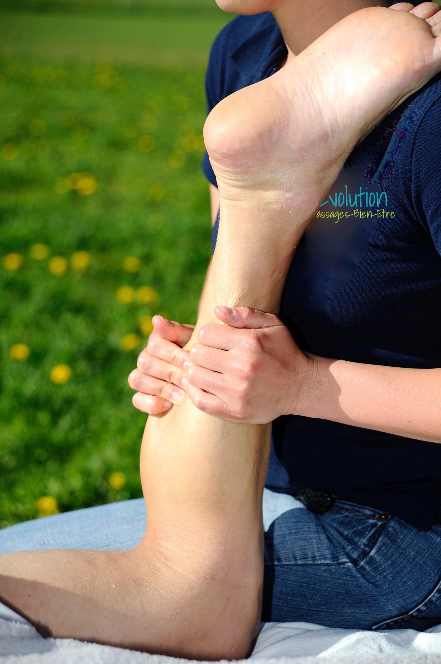 Massage Jambes et Pieds