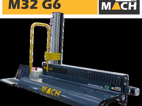 CNC de fio quente M32 G6 é a máquina própria para uma produção de letreiros com um menor custo.