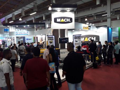 Mach CNC na feira Serigrafia Sign Expo Future Textil