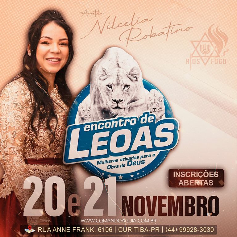 ENCONTRO DE LEOAS - R$ 200,00