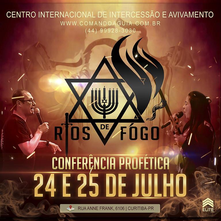 CONFERÊNCIA - RIOS DE FOGO
