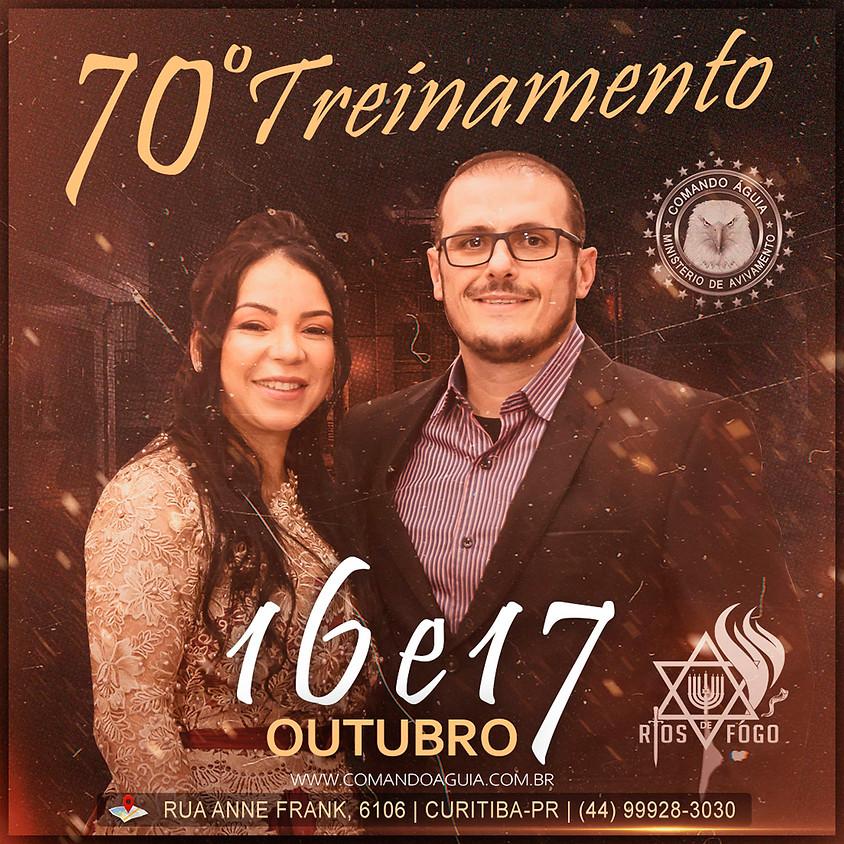 70º  TREINAMENTO / RIOS DE FOGO - R$ 200,00