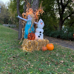 8. Frozen Scarecrows