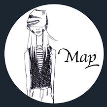 富士市美容院COCO地図,場所