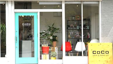 富士市美容室,COCO外観