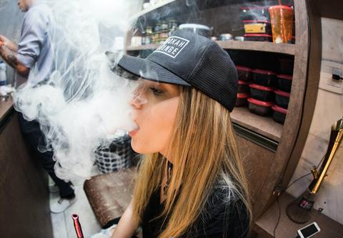 Are e-cigarettes healthier or not than cigarettes?