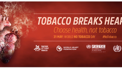 The fight against tobacco goes to the heart