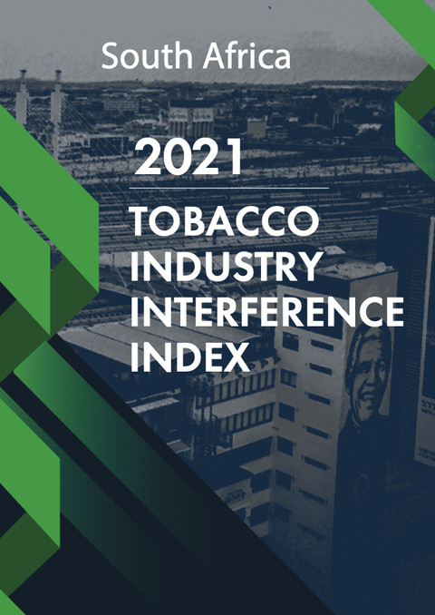 2021 S.A Tobacco Industry Interference Index Report signals high tobacco industry interference