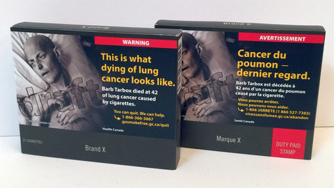 One of the changes in The Draft Tobacco Control Bill, will be standardised or plain packaging of cig