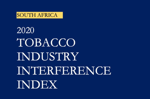 LAUNCH - SOUTH AFRICA - 2020 TOBACCO INDUSTRY INTERFERENCE INDEX