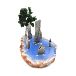 Standing Stones Statuette - Hand Crafted by Nina Wozniak