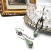 Come see the vast collection of earrings.  A little something for every taste and budget!