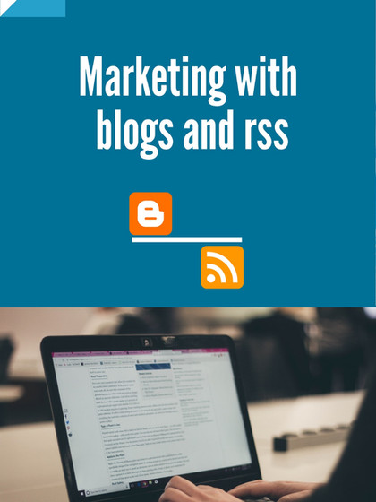 marketing with blogs and rss