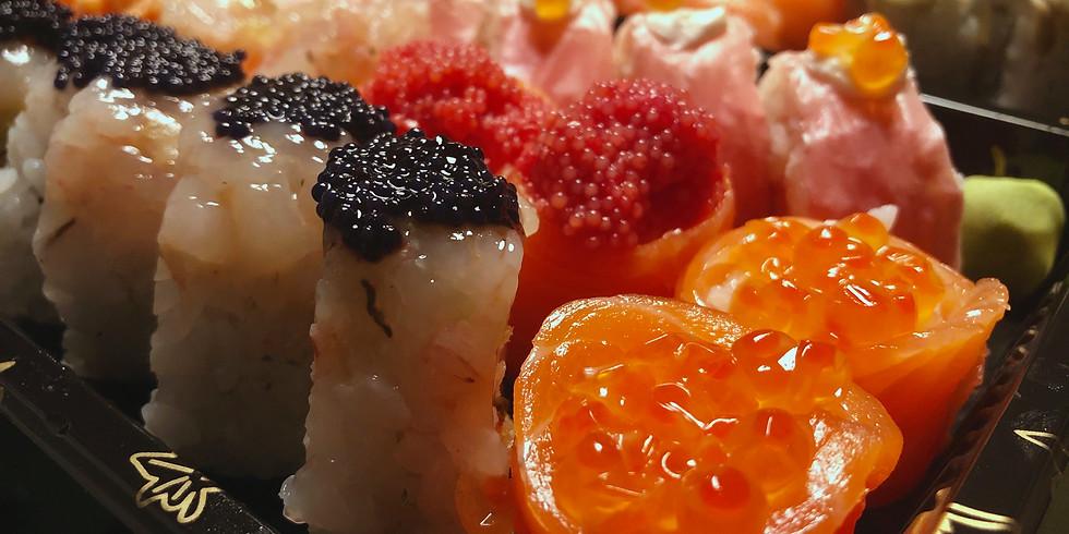 sushi e sashimi sab.6/ dom.7 Feb.