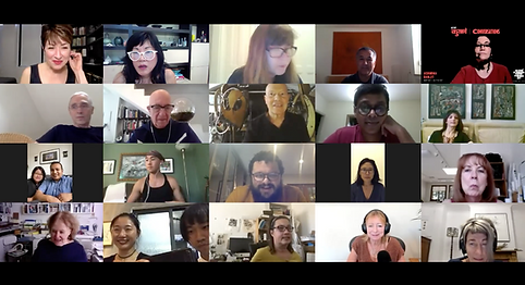 """20 global artists attend a remote artist reception for the launch of the """"Hello World"""" online art exhibition"""
