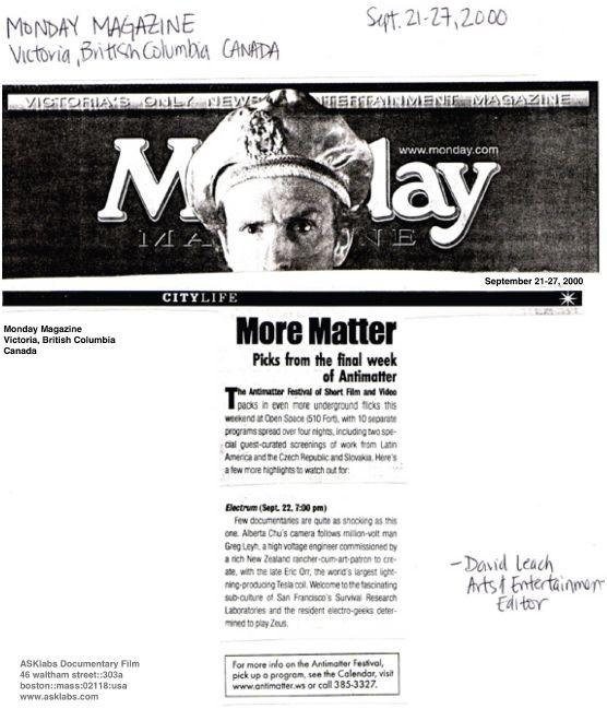 """More Matter: Picks from the final week"