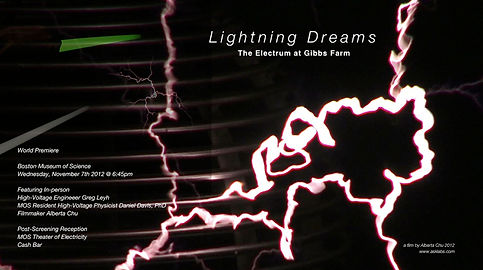 Lightning Dreams: The Electrum at Gibbs Farm