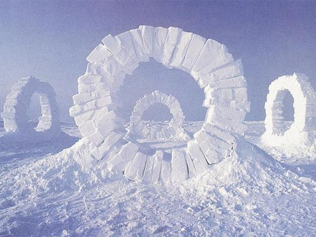 ANDY GOLDSWORTHY BUILDS US A HOUSE