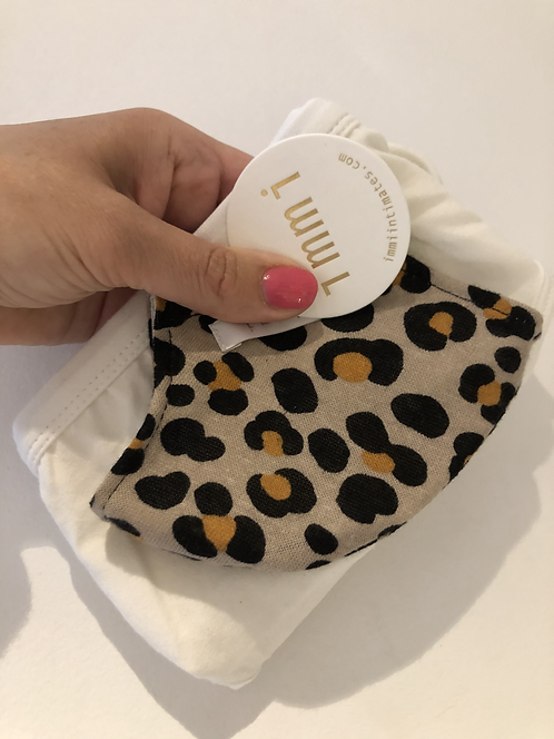 Mask and Undies Essentials Pack (Tan Leopard)