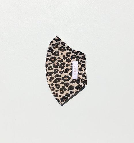 Leopard Sand- Summer Muslin Cloth