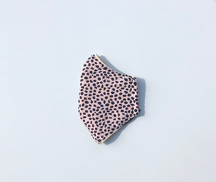 Dusty Pink Leopard Spot