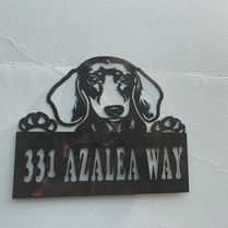 Address Marker Dachsund