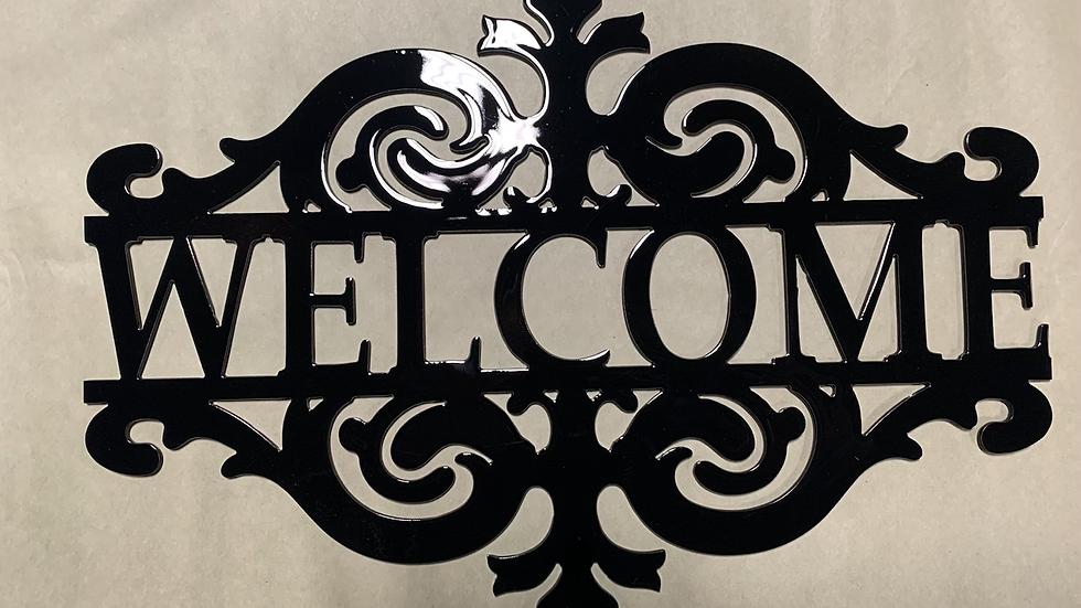 Welcome Vintage Sign