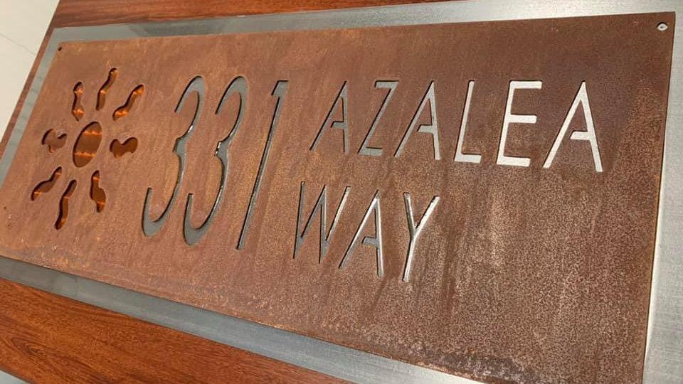 Corten Layered Address