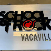 School of Rock Signage