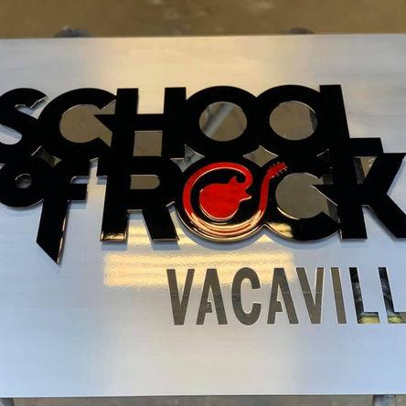 School of Rock Signage