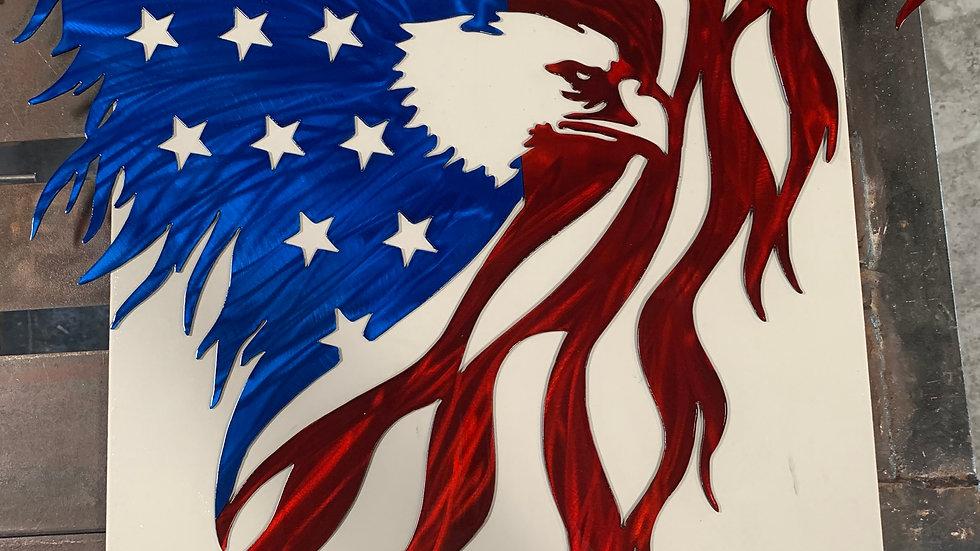 USA EAGLE NO BANNER