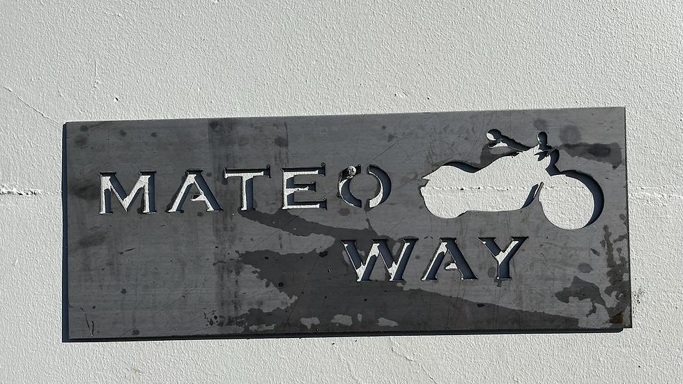 Rustic Name Signs