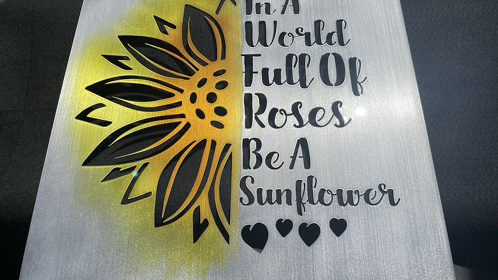 Be A Sunflower Sign