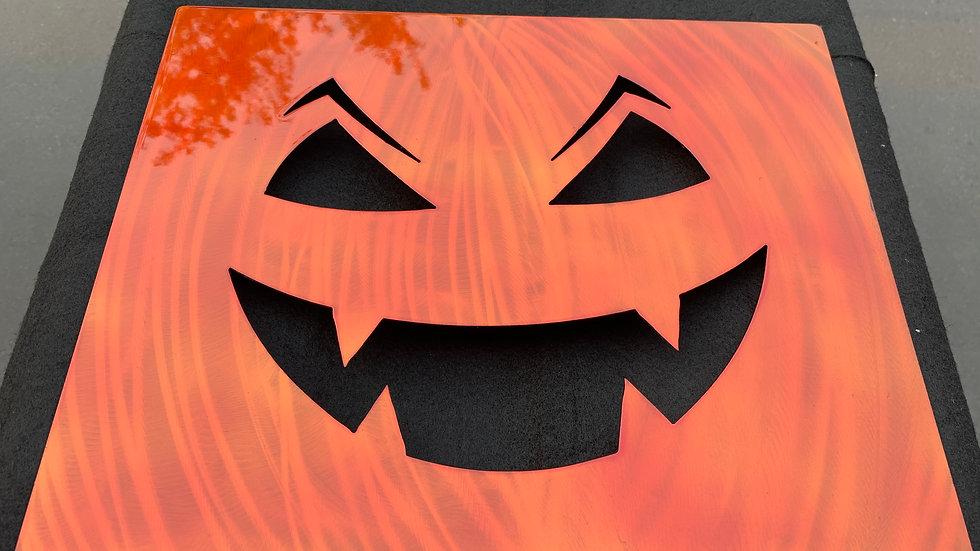 Spooky Pumpkin Sign