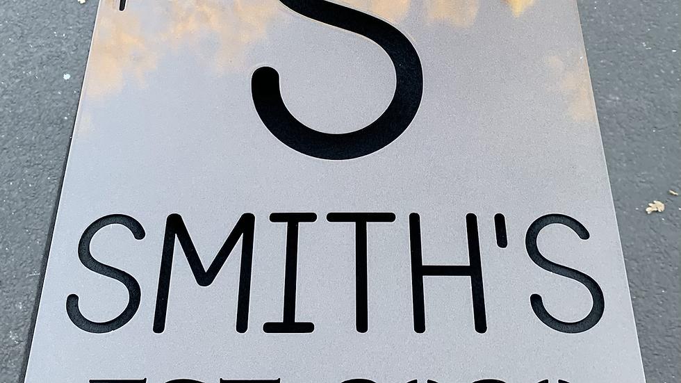 Customized Established Sign