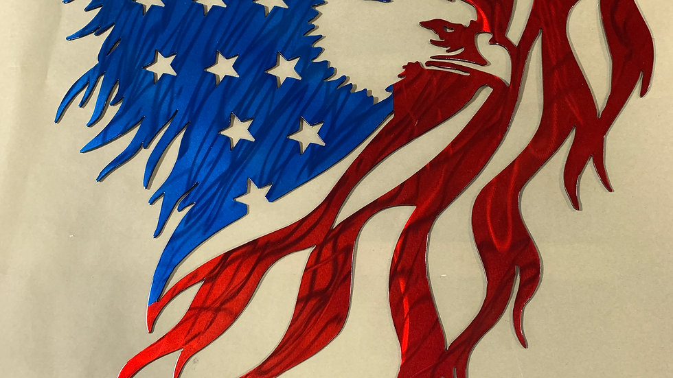 USA EAGLE CUSTOM BANNER
