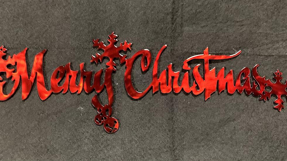Merry Christmas Cursive