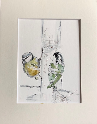 Birds Drawing For Sale