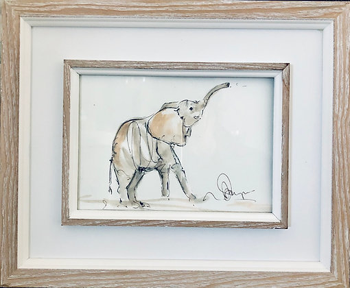 Elephant For Sale (framed)