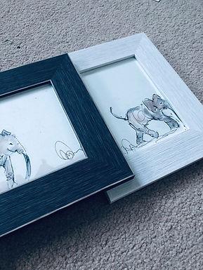 Elephants For Sale framed as a Quintet  (original)