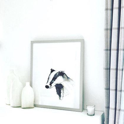 Original Badger for Sale (mounted and framed)