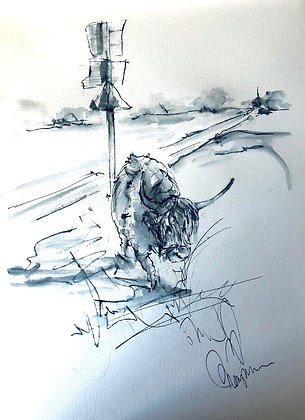 Cows on the Common - Original - No.5